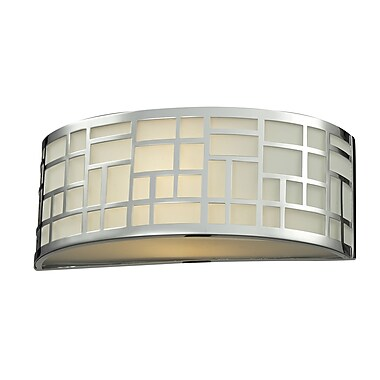 Z-Lite Elea 1-Light Wall Sconce; Chrome