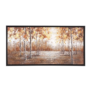 Woodland Imports The Brilliant Wood Frame Painting Print