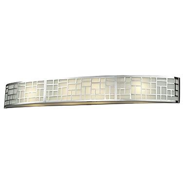 Z-Lite Elea 4-Light Bath Bar; Chrome