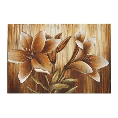 Woodland Imports Contemplative Painting Print on Canvas