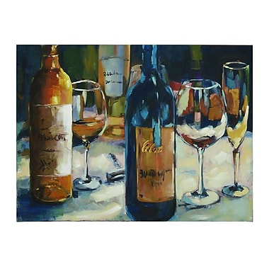 Woodland Imports Jiu Wine Framed Painting Print on Wrapped Canvas