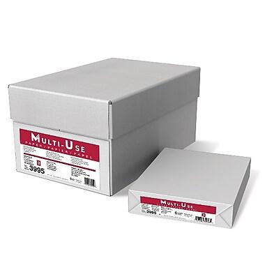 Domtar – Papier Weyerhaeuser 40M, 20 lb Papier Bond multiusage, 8,5 x 11 po, blanc