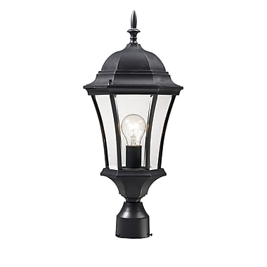 Z-Lite Wakefield (522PHM-BK) , Outdoor Post Light, 9.5