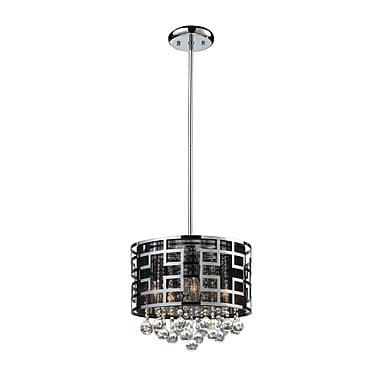 Z-Lite Mirach (841CH) 6 Light Crystal Chandelier, 12.5