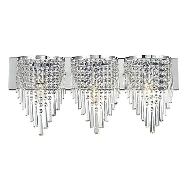 Z-Lite Tango (868CH-3V) 3 Light Crystal Vanity Light, 4.5