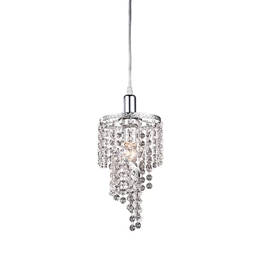 Z-Lite 51042, 1 Light Mini Chandelier, 6