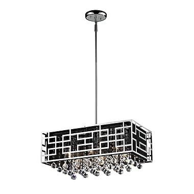 Z-Lite Mirach (870CH) 6 Light Chandelier, 22