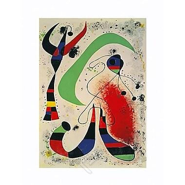 La Nuit de Miro, toile de 24 x 36 po