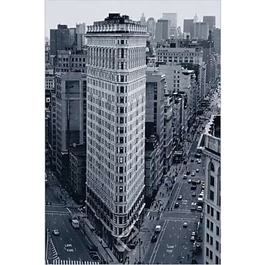 Flat Iron Building New York, Stretched Canvas, 24