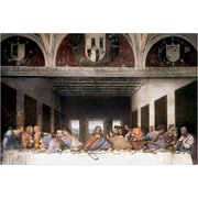 "The Last Supper by Da Vinci, Canvas, 24"" x 36"""