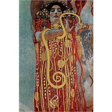 Hygieia Greek Goddess by Klimt 1705-65049, Canvas, 24
