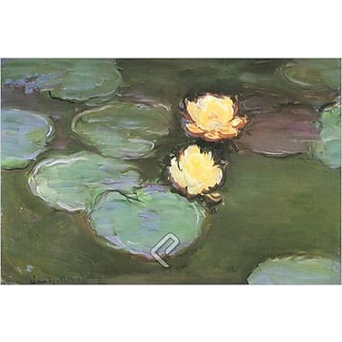 Water by Monet, Canvas, 24