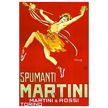 Martini & Rossi - Spumanti, Stretched Canvas, 24