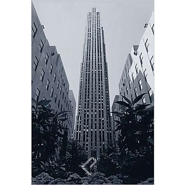 Le Rockefeller Center, toile tendue, 24 x 36 po
