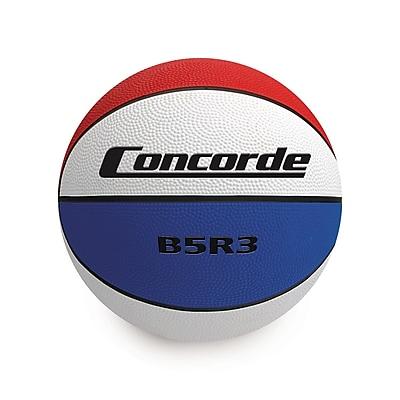 Concorde Rubber Tricolour Basketball Size 5