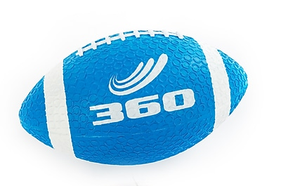 360 Athletics Rubber Grippy Football, Blue