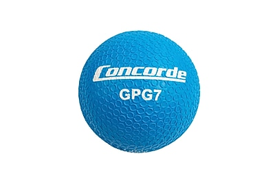 Concorde Grippy Rubber Playball Size 7, Blue