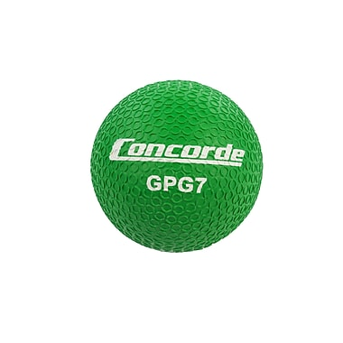 Concorde Grippy Rubber Playball Size 7, Green