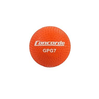 Concorde Grippy Rubber Playball Size 7, Orange