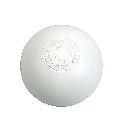 360 Athletics Official Lacrosse Ball, White