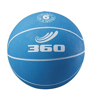 360 Athletics Playground Colors Rubber Basketball 5, Blue