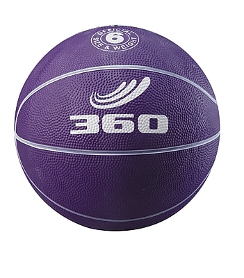 360 Athletics Playground Colors Rubber Basketball 5, Purple
