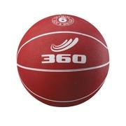 360 Athletics Rubber Playground Basketball, Red/White