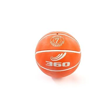 360 Athletics Rubber Playground Series Rubber Basketballs Size 7, Orange
