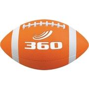 360 Athletics Rubber Footballs Size 7, Orange