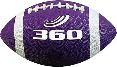 360 Athletics Rubber Footballs Size 7, Purple