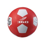 360 Athletics Rubber Playground Soccer Ball, 4 Red