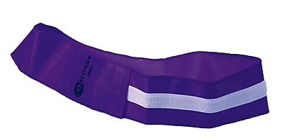360 Athletics Velcro Closure Velcro ID Belt, Purple
