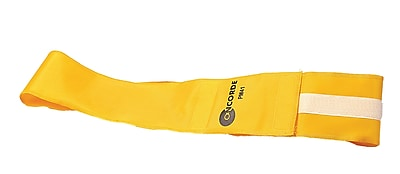 360 Athletics Velcro Closure Velcro ID Belt, Yellow