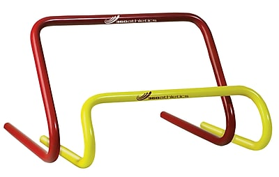 360 Athletics ABS Plastic Speed Hurdle, Red