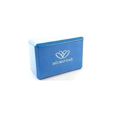 360 Mind & Body Foam Yoga Bricks, 4