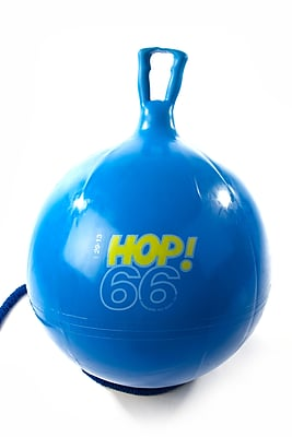 Gymnic Soft Vinyl Hop Ball, Blue