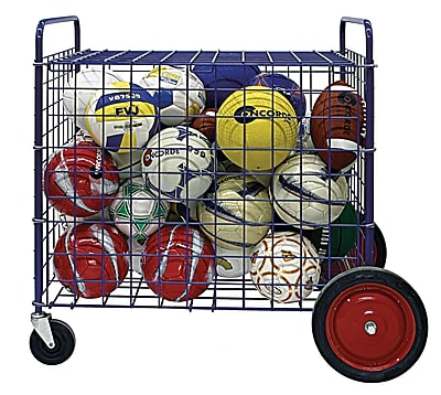 360 Athletics Deluxe Outdoor Ball Cart 7
