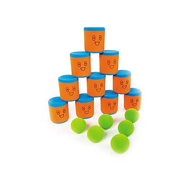 360 Athletics Rubber Foam Knock Down Cup Set