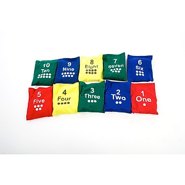 360 Athletics Numbered Bean Bag Set 4
