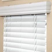 Fauxwood Impressions Room Darkening White Venetian Blind; 31.25'' W x 54'' L