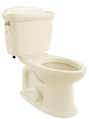 Toto Dartmouth Eco 1.28 GPF Elongated Two-Piece Toilet; Sedona Beige