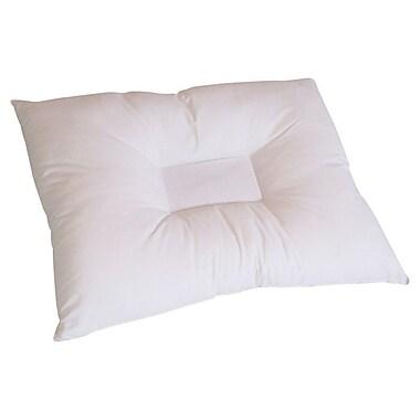 Pillow with Purpose Comfort Cradle Anti Stress Polyfill Standard Pillow