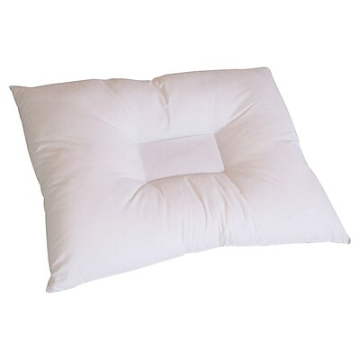 Pillow with Purpose Comfort Cradle Anti Stress Polyfill Standard Pillow