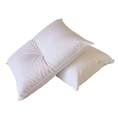Pillow with Purpose Back Pain B' Gone Polyfill Standard Pillow