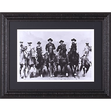 Art Effects The Magnificent Seven by The Chelsea Collection Framed Photographic Print