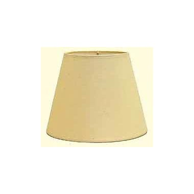 Deran Lamp Shades Hardback 11'' Linen Empire Lamp Shade; Champagne