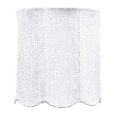 Jubilee Collection 7.25'' Drum Lamp Shade; White
