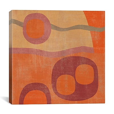 iCanvas 'Abstract III' by Erin Clark Graphic Art on Canvas; 18'' H x 18'' W x 0.75'' D