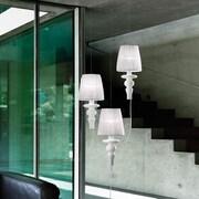 Evi Style Gadora Chic 3-Light Cluster Pendant; Chrome-Grey