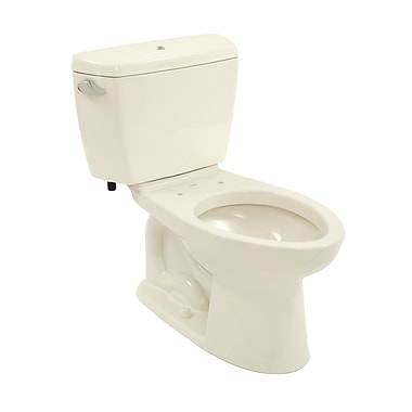 Toto Drake 1.6 GPF Elongated Two-Piece Toilet; Sedona Beige